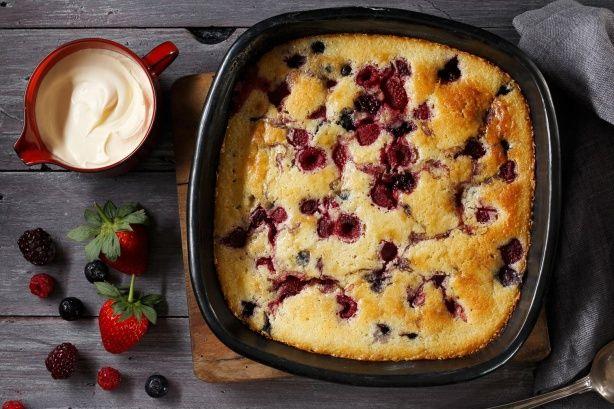 Meggyes sütike pikk-pakk, egyszerűbb recept nincs is!