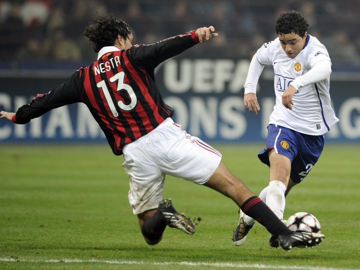 Alessandro Nesta v Rafael - AC Milan