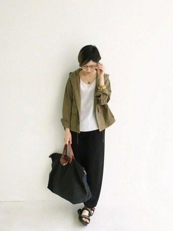 ナイロン製のル・プリアージュはとても軽いので、旅行バッグとしても優秀です。