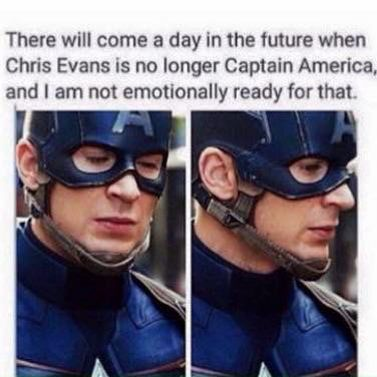 ABSOLUTELY NOT!!!!! I WILL NEVER ALLOW THIS TO HAPPEN AS LONG AS I HAVE ANYTHING TO SAY ABOUT IT! STEVE ROGERS IS THE ONLY REAL CAPTAIN AMERICA AND CHRIS EVANS IS THE ONLY REAL STEVE!!!