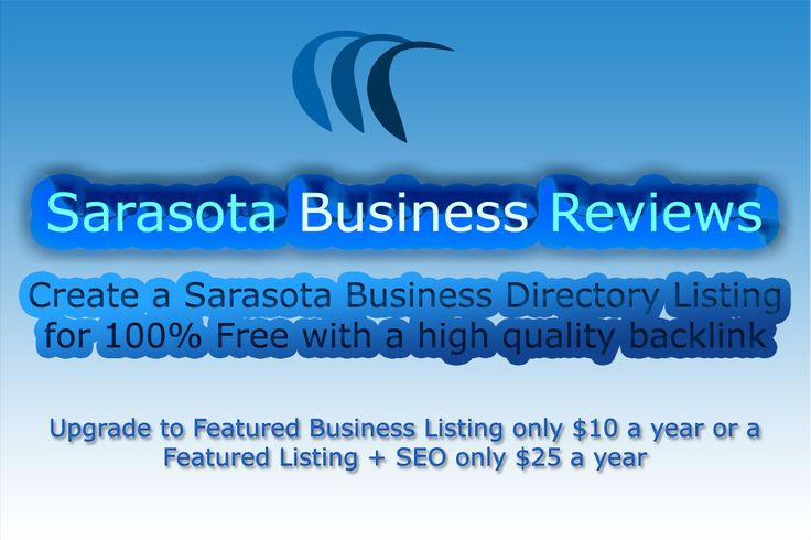 Submit your computer repair business to our Sarasota computer repair services directory for free! Your Sarasota FL business directory submission gives you the ability to create a quality keyword targeted backlink to your Sarasota computer repair services companies website or inner pc repair pages to pass on link juice and give you a better change to rank for that keyword. We accept all computer repair companies or computer repair professionals to submit a computer repair listing