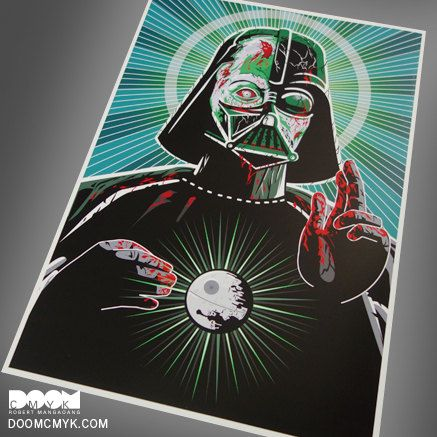 1 1 special edition zombie sith lord number 2 fan art 13x19 print on ultra premium photo paper luster