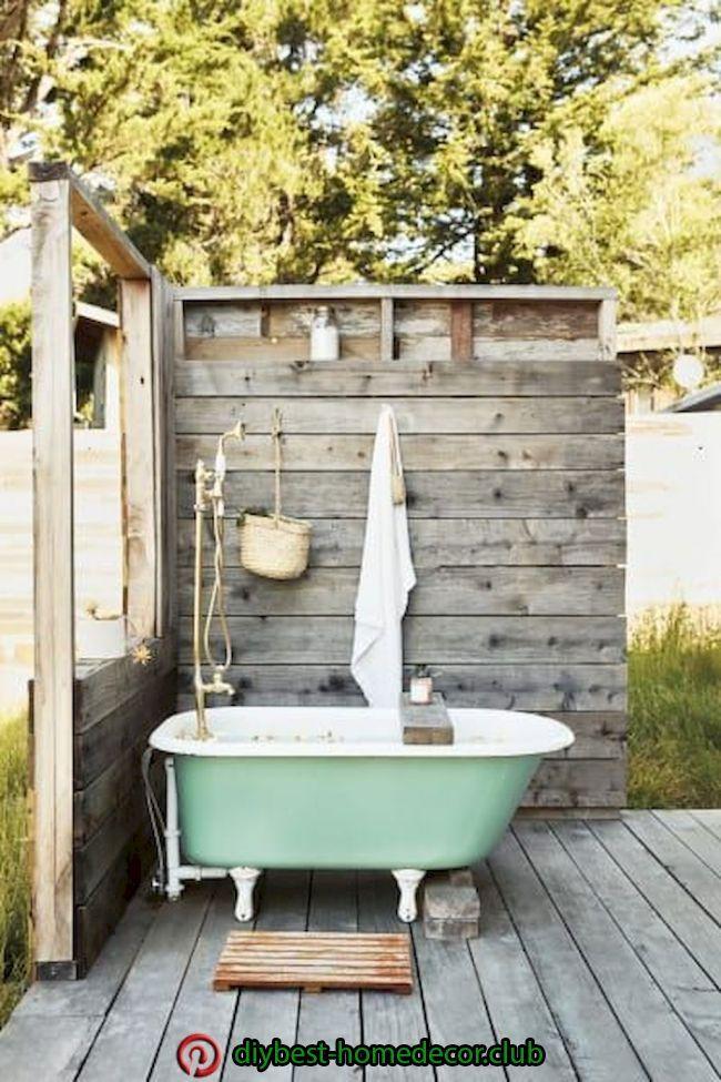 Diy Decorations Outdoor Tub Outdoor Bathtub Outdoor Bathroom