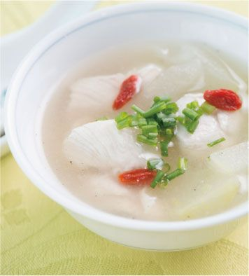沖縄 塩はシママース本舗 青い海! » 冬瓜と鶏ささみのスープ