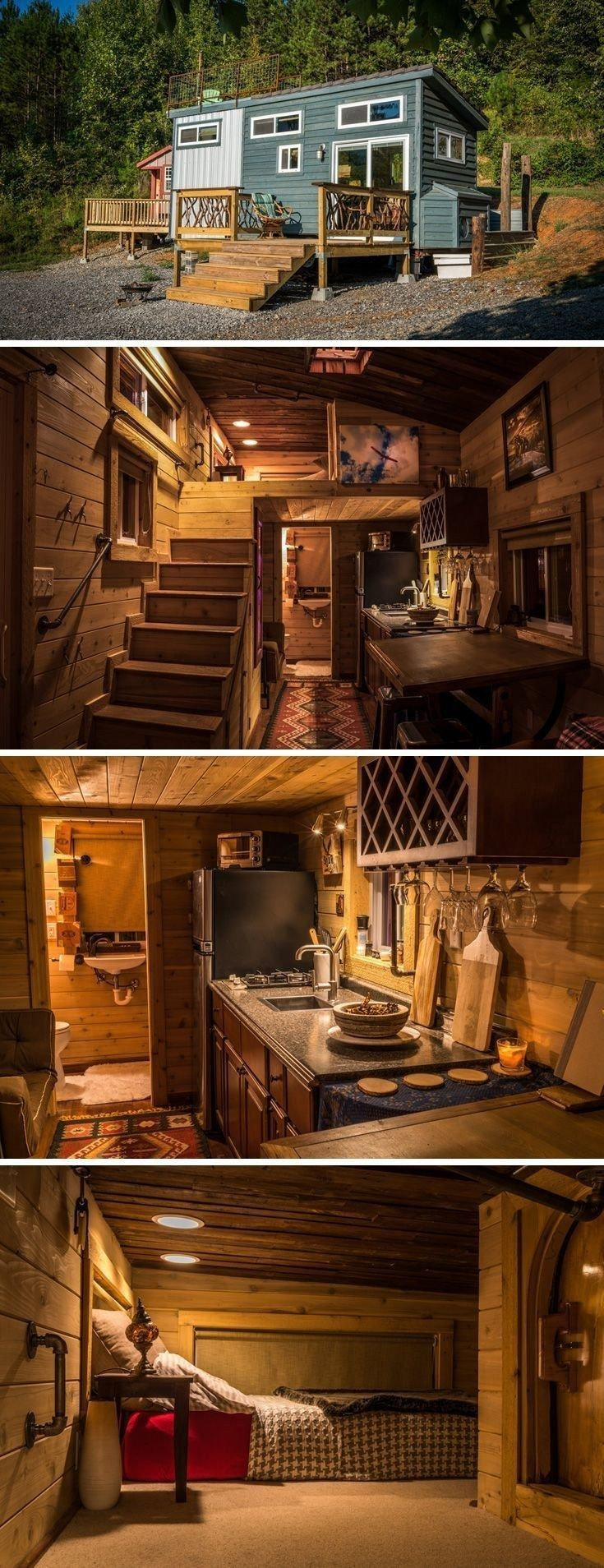 46 Wonderful Rustic Tiny House Design Ideas That You Need to Have | Justaddblog….
