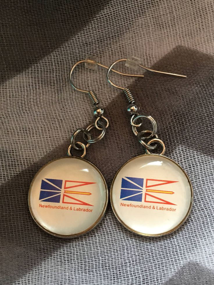 Handmade - Charm Earrings - Round NL Charm - Fishhook Earrings - Charm Jewelry Earrings - Newfoundland and Labrador - Salty Air Inspirations by SaltyAirInspirations on Etsy https://www.etsy.com/ca/listing/537746508/handmade-charm-earrings-round-nl-charm
