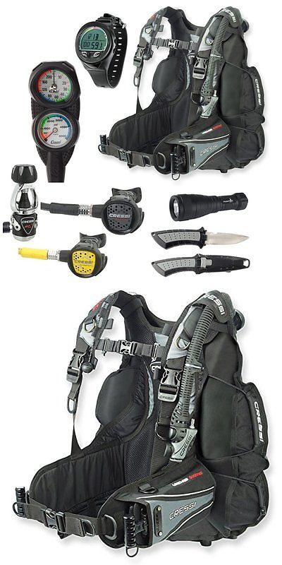 Buoyancy Compensators 16053: Cressi Air Travel Bc Scuba Gear Package, Dive Computer, Sm -> BUY IT NOW ONLY: $1286.86 on eBay!