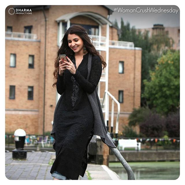 She's like the soundtrack in your playlist that you will never get enough of! #WCW #womancrushwedensday #AeDilHaiMushkil @anushkasharma