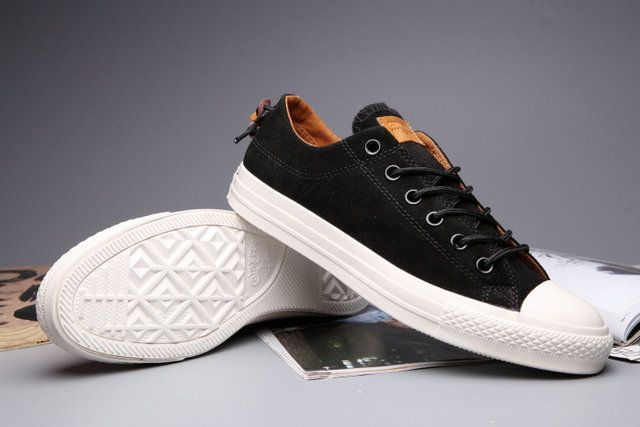 7b8ac21f090c  converse Massclusive Converse Clot Undefeated All Star Chuck Taylor Suede  Low Tops Black Sneakers