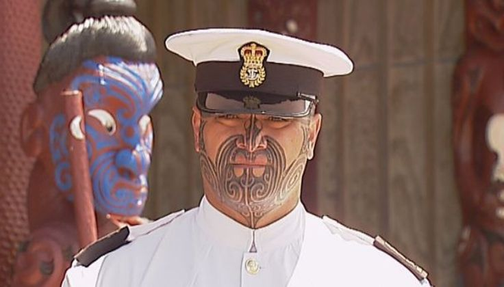Navy welcomes first sailor with moko
