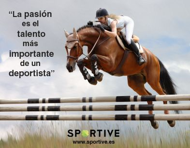 La #PASIÓN es el talento más importante de un #deportista