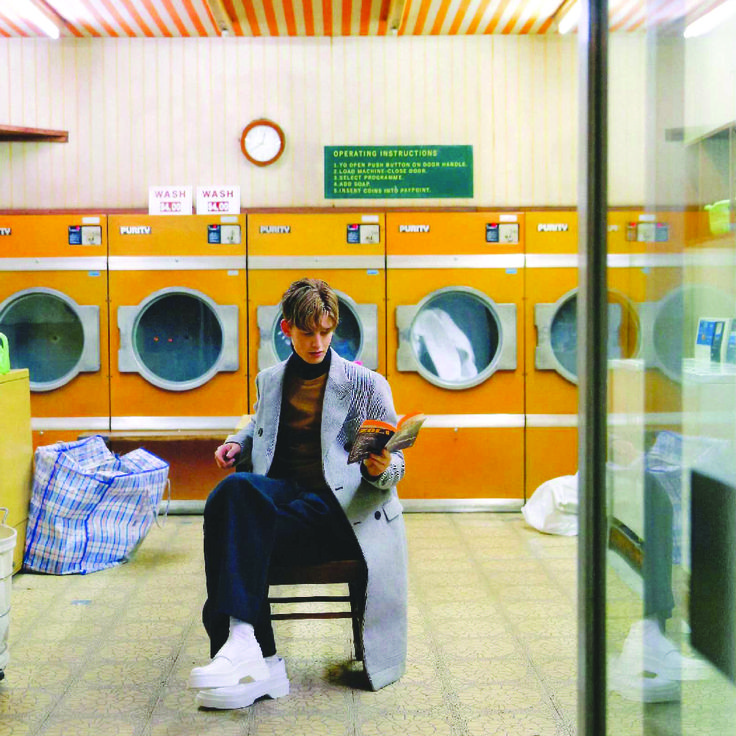 Jil Sander — Another shot of Cluel Magazine featuring a Jil...