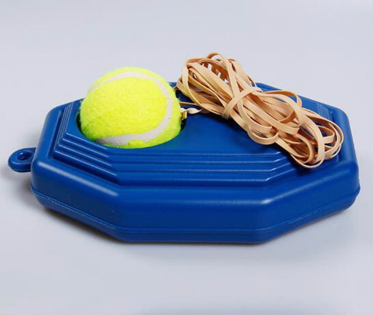 Exercise Rebound Ball with Tennis Trainer Baseboard Sparring Device