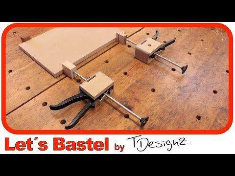 Spannelemente für den Multifunktionstisch selber machen aus Silikonpressen   Anleitung   DIY - YouTube