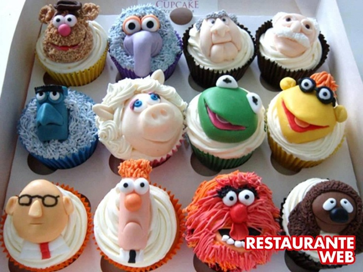 Muppets Cakes! Lindosss... *_*