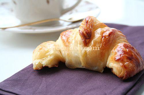 Croissant, Cruasán como hacerlos caseros paso a paso