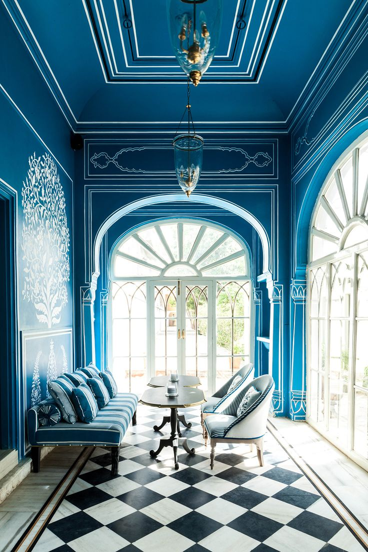 From Tocca to Taj Mahal,Marie-Anne Oudejans' blue period