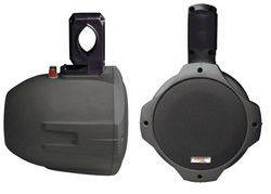 Dual Marine Wakeboard Water Resistant Speakers 6.5-Inch 200 Watt Tower Speakers Black