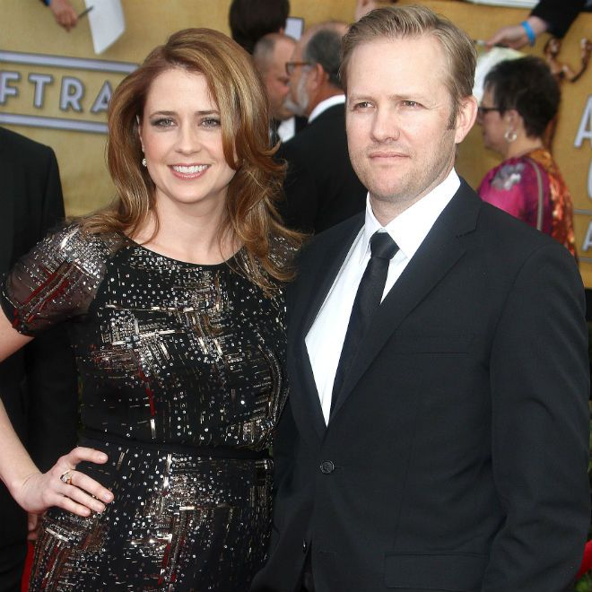 The Office actress Jenna Fischer and her hubby, Lee Kirk, are expecting their second child this summer.