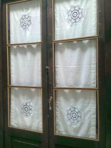 M s de 25 ideas incre bles sobre cortinas largas en - Cortinas con visillos ...