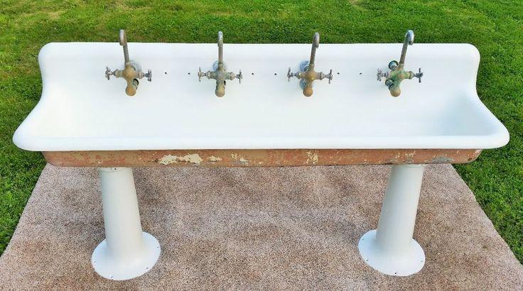 37 Best Antique Sink Images On Pinterest Cast Iron