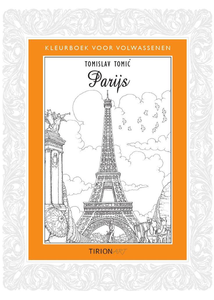 Inkijkexemplaar Kleurboek voor volwassenen - Parijs  Kleurboek voor volwassenen - Parijs - Tomislav Tomic 9789043917308 Kleuren is een heerlijke bezigheid die je overal kunt doen. Er zijn maar twee regels die gelden: ontspan en kleur de tekening zoals jij het wilt! In de serie Kleurboek voor volwassenen staat steeds een thema centraal, hier is dat Parijs! Vouw de kleurplaat open en ontdek een mooi kunstwerk om in te kleuren, inclusief achtergrondinformatie over de gebouwen en…