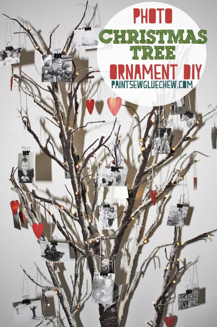 Photo Christmas Ornaments DIY