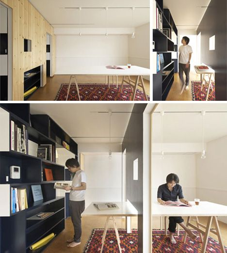 Switch mobile walls / Yuko Shibata