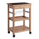 Found it at Wayfair.co.uk - 85cm Kitchen Trolley with Glass Top