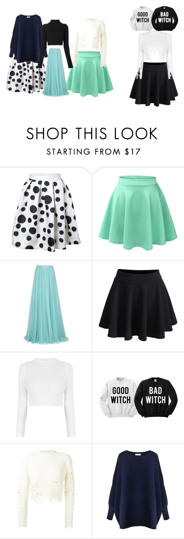 """""""skirts"""" by tahrahholmes ❤ liked on Polyvore featuring LE3NO, Jenny Packham, WithChic, adidas Originals, Paisie and Balmain"""