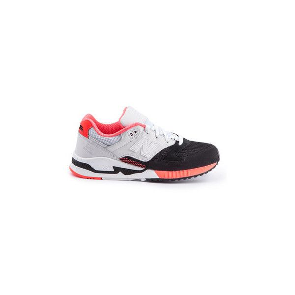 New Balance 530 Encap 90's Running Trainers (€120) ❤ liked on Polyvore featuring shoes, grey, gray shoes, new balance shoes, new balance footwear, grey shoes and light weight shoes