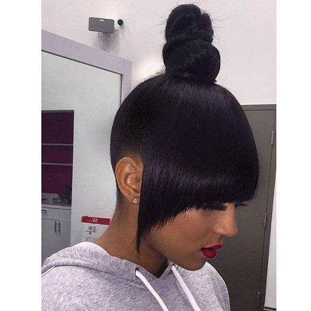 Weave Sleek Knot Bun Top