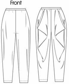 Vogue pants pattern
