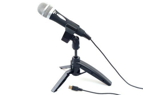 CAD U1 USB Dynamic Recording Microphone by CAD. $24.46. Amazon.com                Offering excellent quality at an affordable price, the CAD U1 records directly to your computer via USB and is a great choice for both vocal and instruments as well as for creating podcasts and voiceovers for videos. Compatible with both Windows and Mac OS operating systems, you can simply plug the U1 into your PC and start recording.   This dynamic microphone features a cardioid p...