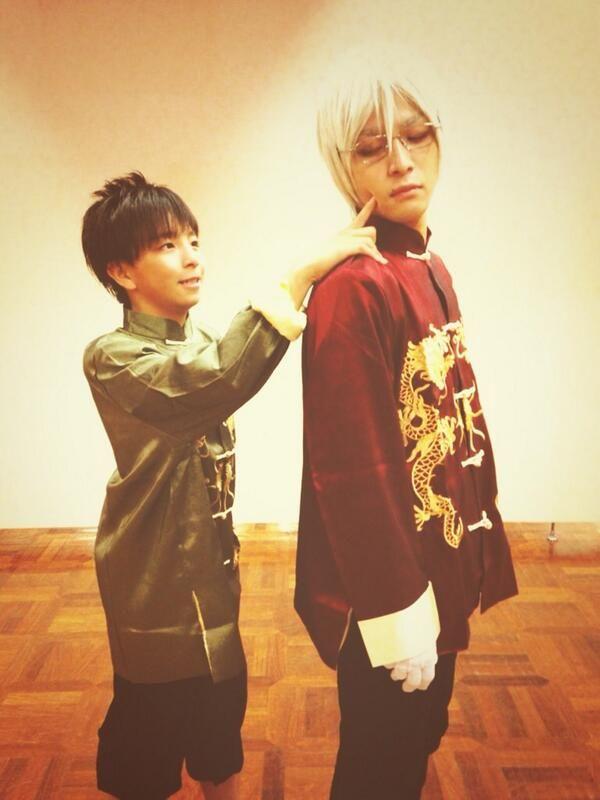 AOI & IZUME (don't touch izume !!) ahah -arsmagna