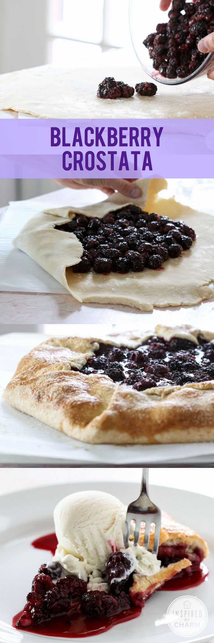 Blackberry Crostata