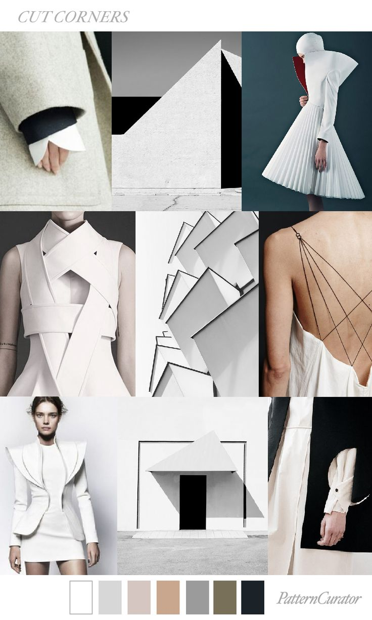 CUT CORNERS by PatternCurator for Fashion Vignette