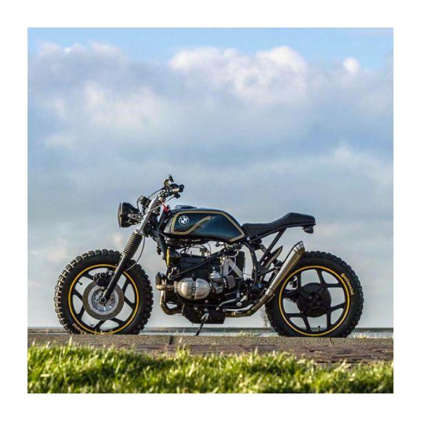 That BMW R65 | Build by Arjan van den Boom | Picture by Jackson Kunis | #bmw #scrambler #motorcycle
