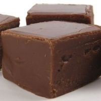 Mackinac Island Fudge- easy and good! Try it with dark chocolate powder... And a small sprinkle of sea salt at the end... Delicious!