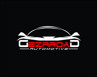 Dezaroad automotive Logo design - logo is suitable for the car companies, automotive, television shows, and some companies are in line with the design. design looks like the car and the letter D