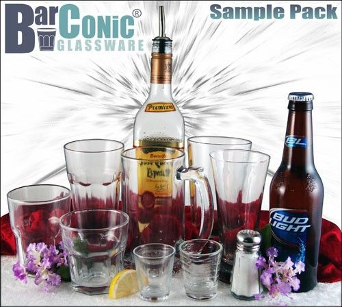 BarConic® Glassware Sample Pack