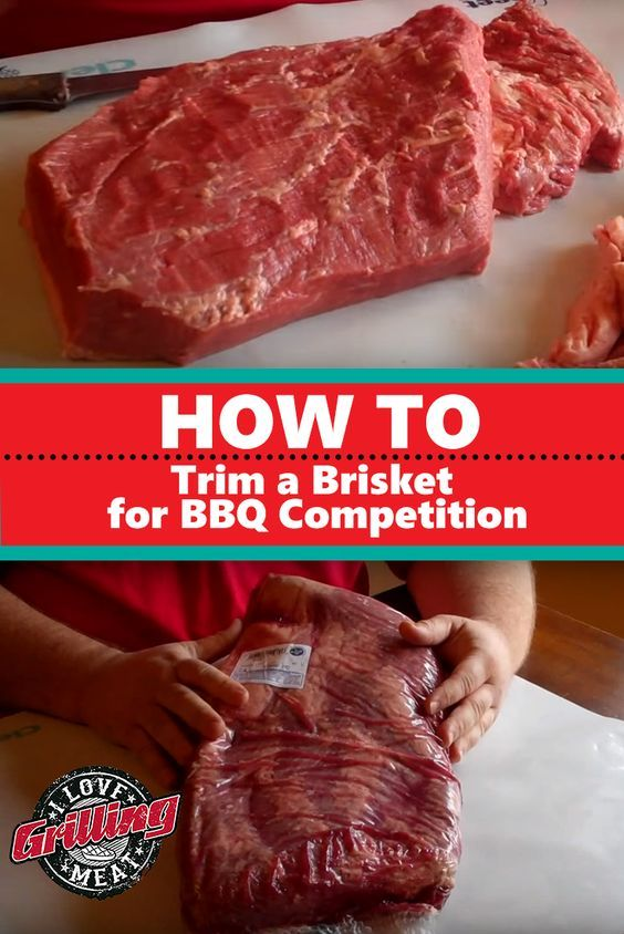 How to Trim a Brisket for BBQ Competition