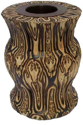 Traditional Ornamental Ponga Vase - 140mm | Shop New Zealand