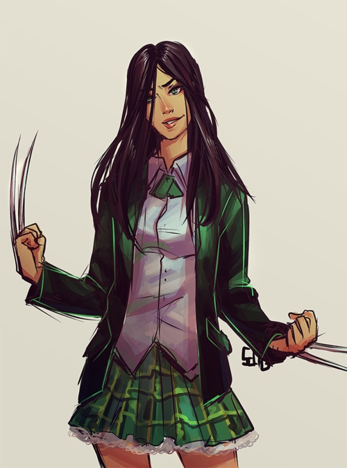 71 best images about Laura Kinney X-23 on Pinterest ... X 23 Cosplay Wallpaper