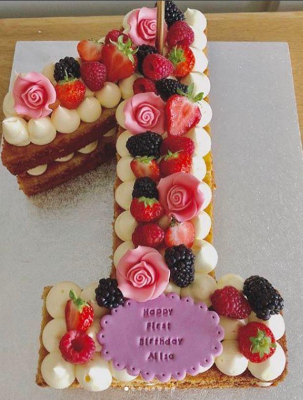 Die besten Ideen für die erste Geburtstagstorte – ely cake – #best #cak … -…   – Torten Rezepte
