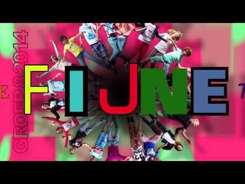 Een hele fijne tijd - afscheid groep 8 De kring 2014 - YouTube