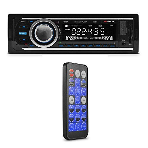 Car Stereo, XO Vision Wireless Bluetooth Car Stereo Receiver with 20 watts x 4, USB Port , SD Card Slot, and MP3 and FM [ XD107 ] - http://caraudio.nationalsales.com/car-stereo-xo-vision-wireless-bluetooth-car-stereo-receiver-with-20-watts-x-4-usb-port-sd-card-slot-and-mp3-and-fm-xd107/
