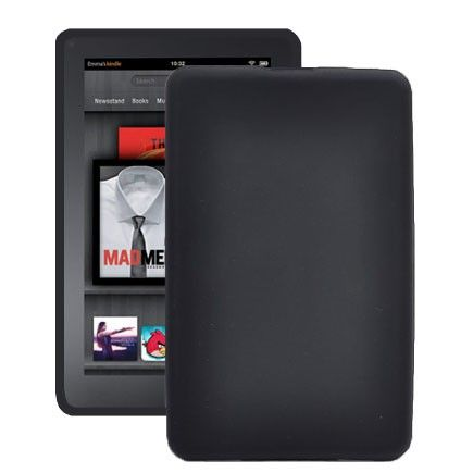 Soft Shell (Sort) Amazon Kindle Fire Deksel