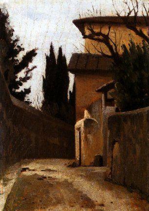 GIUSEPPE ABBATI Via di Montughi a Firenze