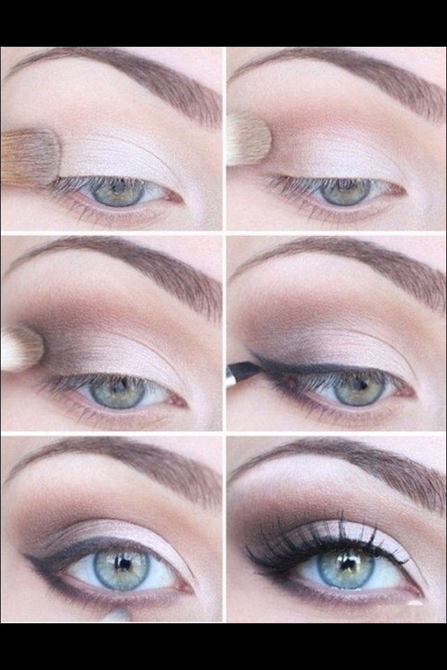 How To Natural Smokey Eye